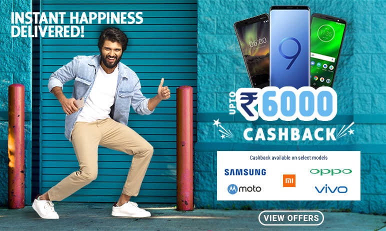PayTM Mall Cash Back