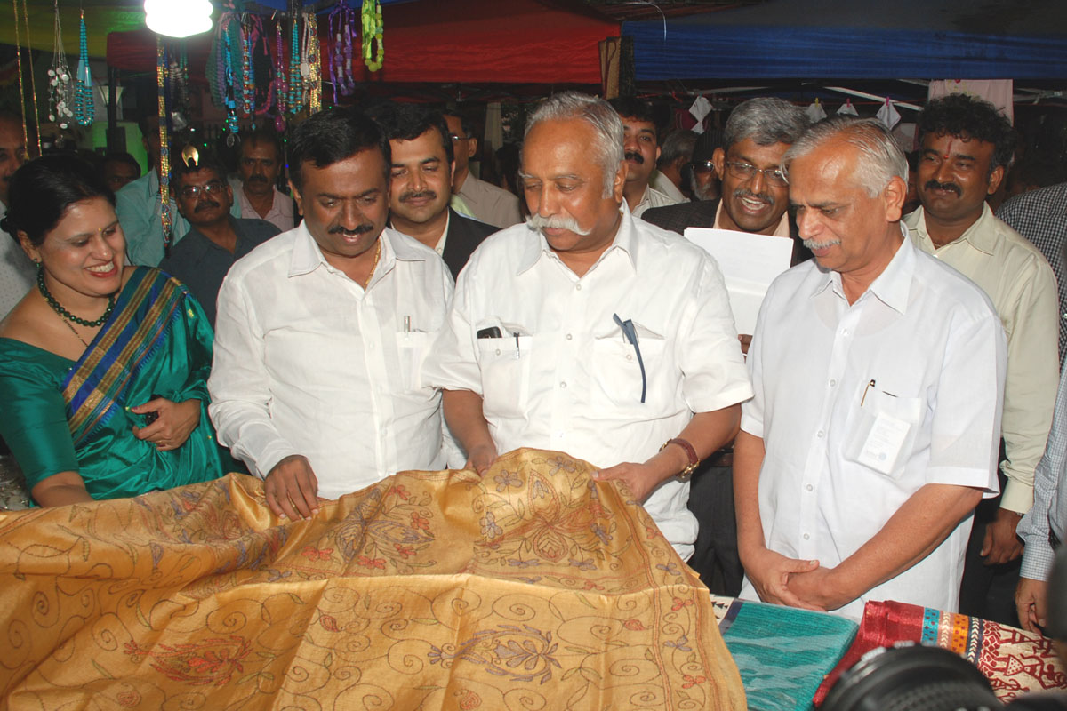 Interaction with Cauvery Crafts Artisans