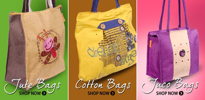 Jute Bags, Cotton Bags, Juco Bags