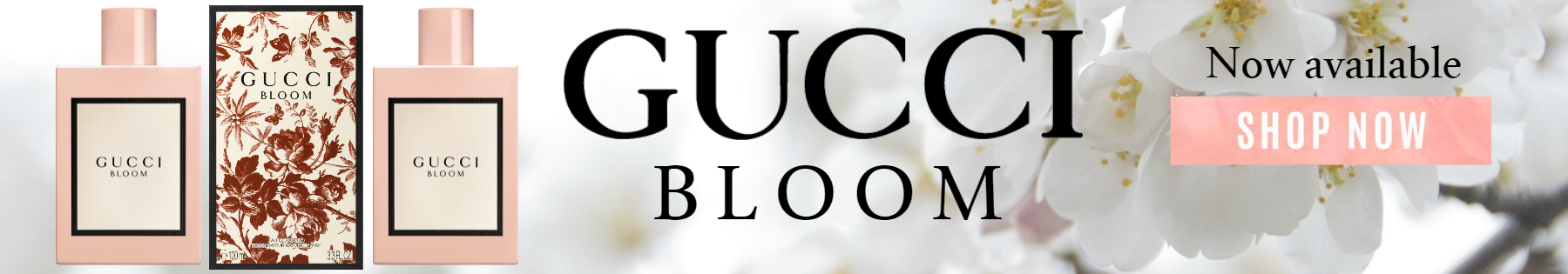 The newest perfume is here: Gucci Bloom!