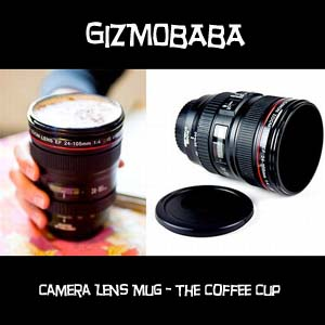 GB106-Gizmobaba DSLR Camera Shape Coffee Cup/ Mug