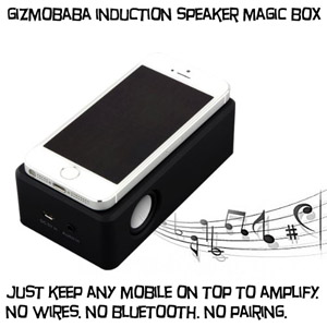 GB142 Gizmobaba Induction Speaker Gadget