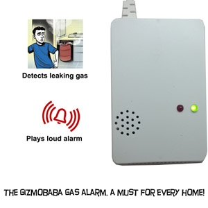 GB144-Gizmobaba LPG, CNG, Cooking Gas Leak Detecti