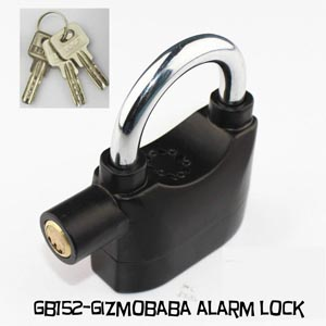 GB152-Gizmobaba Security Alarm Lock Gadget! SEE VI