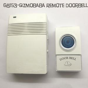 GB153-Gizmobaba Alarm Bell, Remote Doorbell Gadget