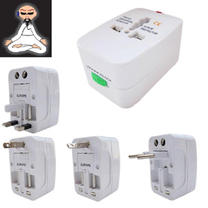 Gizmobaba  International  Universal Power Adapter/