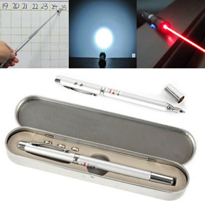 4 in 1 Pen | Laser Pointer | LED Torch