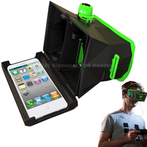 Gizmobaba 3D Headset | Virtual Reality | Gaming Headset