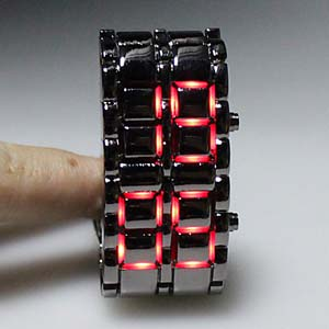 GB73-UNISEX LED Faceless Bracelet Design Digital S