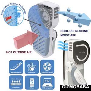 GB93-Gizmobaba Portable Evaporative Cooling Air Co