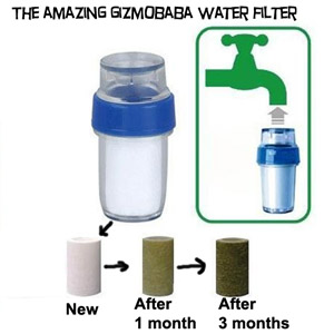 GB98-Gizmobaba Portable Water Purifier Gadget /Giz