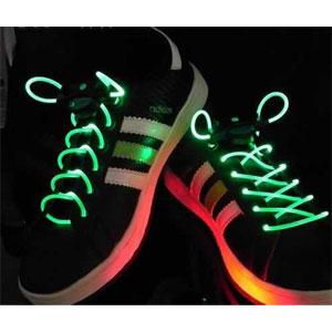 GB70-LED NEON Laser Lights Flashing Shoelace Shoe