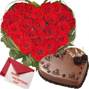 Get Valentine's Special – 10% off on Valentine's Roses Cakes & Gifts