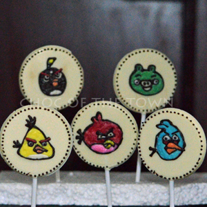 Angry Bird Chocolates