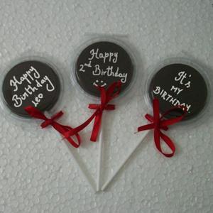Birthday Message Chocolate
