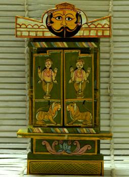 Kavad Art,Indiacraft,Medium Kaavad- Painted wood portable shrine