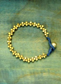 Jewellery,Indiacraft,Dhokra Metal Craft Bracelet