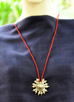 Jewellery,Indiacraft,Lambani Tribal Pendant on Thread