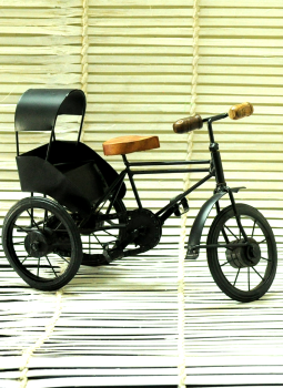 Brass Metal Art,Indiacraft,Metal Craft  Curio-Cycle Rikshaw