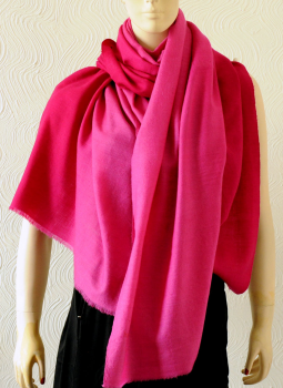 Warm Stoles & Mufflers,Indiacraft,Pure pashmina shaded Stole - Pinks  PPKSF