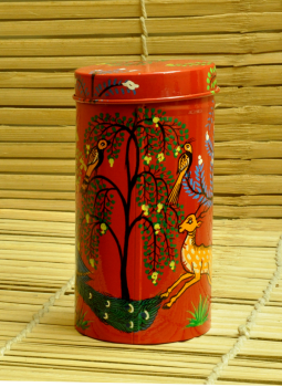 Cookie Boxes,Indiacraft,Patachitra Painted Tin Cookie Boxes (3