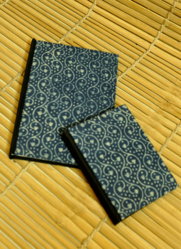 Diaries,Indiacraft,Handmade Cloth Cover Diary (SRC0102BL)