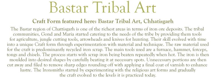 Bastar Tribal Art Curios Home Decor Indiacraft Bastar