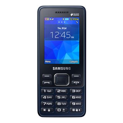featured phones, samsung metro b350e (black)