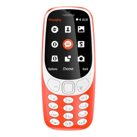 Featured Phones, Mobile Phones, Nokia, Nokia 3310 (2017) , up to 22 hours talk time , Up to 31 days , 115.6 x 51 x 12.8 mm ,  , 2MP , Micro USB (USB 2.0) , Bluetooth 3.0 with SLAM , YES , 2.4