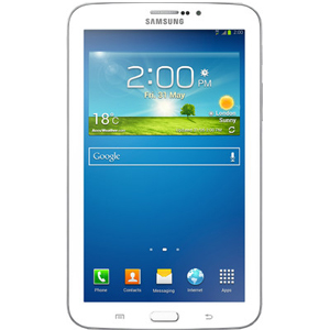 Tablets, Mobile Phones, Samsung, Samsung Galaxy Tab 3 T2110 Tablet , 20 hrs (3G) , 4000 mAh Lithium - Ion , 188 x 111.1 x 9.9 mm , 304 g , 1.3 megapixels , Yes , 3 megapixels , Shot Mode, Framed Photos , Yes , Yes , v3, Supported Profiles(A2DP, AVRCP, OPP, PAN, HSP, SPP, HID) , Yes, USB 2.0 , 7 inch TFT Capacitive Touchscreen with 1024 x 600 pixels ,16 M Colors ,  , Android , Geo-magnetic Sensor, Light Sensor, Accelerometer, Proximity Sensor , Android 4.1 (Jelly Bean) , Yes, A-GPS, GLONASS ,  ,  , Yes , Single SIM, GSM , 2G: GSM 900, 1800; 3G: UMTS 2100 , 8 GB , microSD , Yes