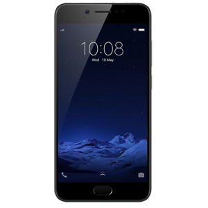 Smart Phones, Mobile Phones, Vivo, Vivo V5s - Matte Black , 153.8 x 75.5 x 7.6 mm , 154 g , 20 MP, f/2.0, 1/2.8