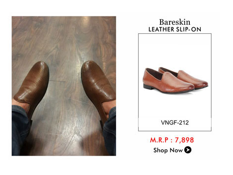Bareskin Leather Slip On