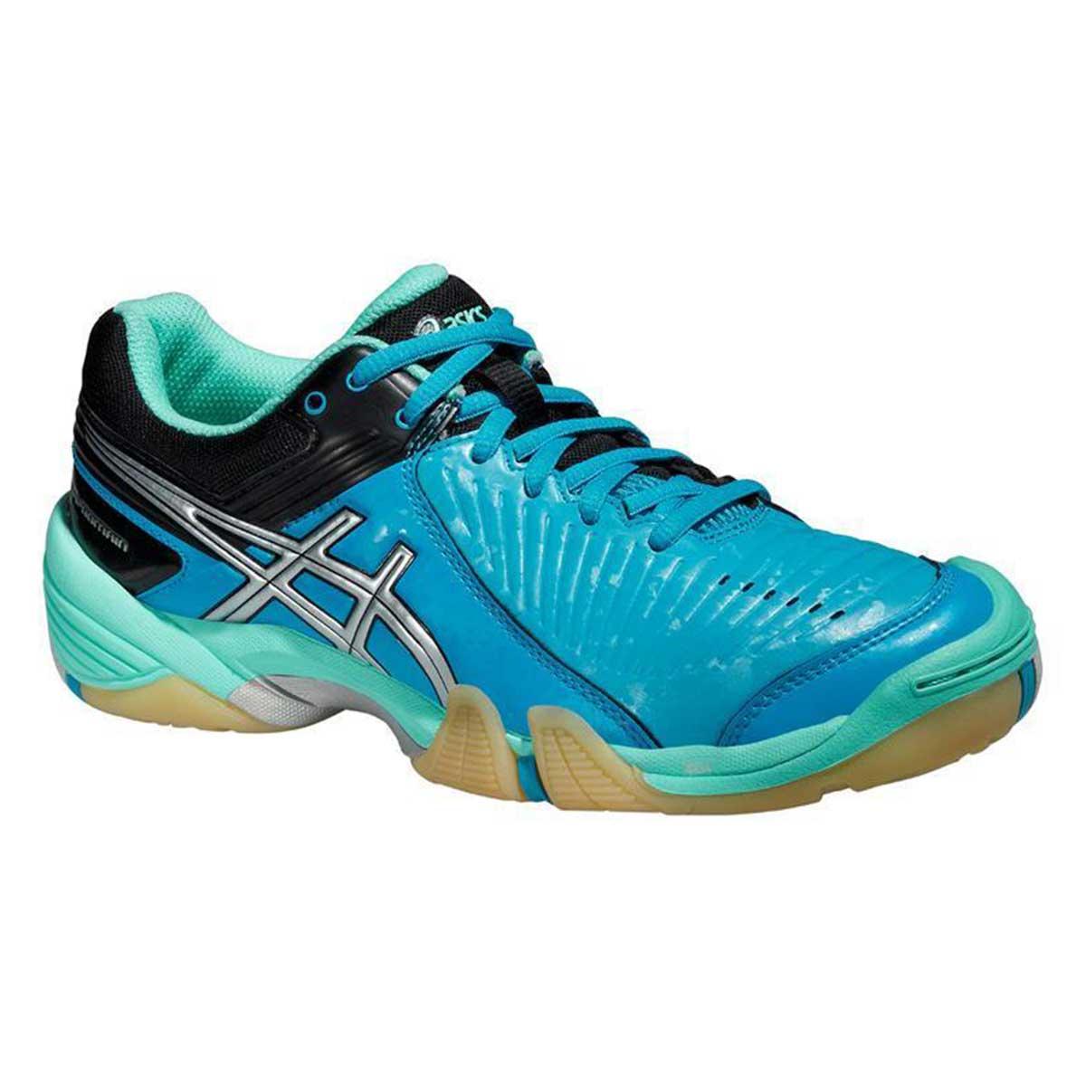 Squash Shoes, Squash, Sports, Buy, Asics, Asics Gel-Domain Women's Court  Shoes (Aqua Mint/Silver/Electric)