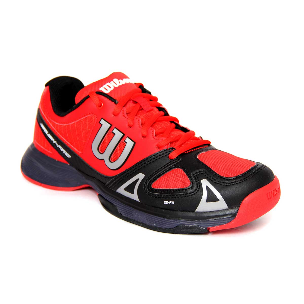 Tennis Shoes, Tennis, Sports, Buy, Wilson, Wilson Rush Pro Junior Tennis  Shoes (Red/Black)
