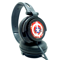 disney series,Portronics,Marvel Captain  America  Headphone