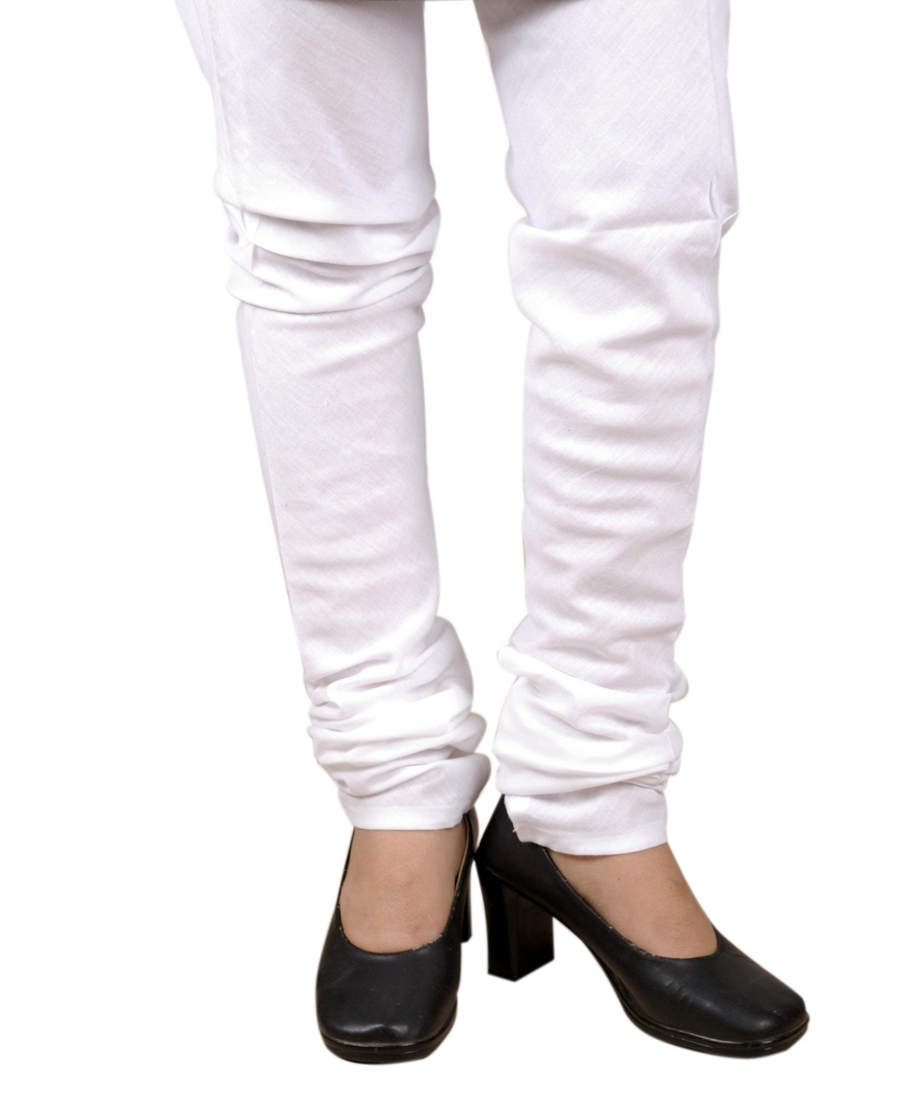 Cotton Churidars, Bottoms, Womens Wear, Indian Concepts, White Churidar