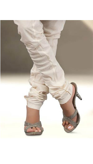 Cotton Churidars, Bottoms, Womens Wear, Indian Concepts, Off-White Churidar