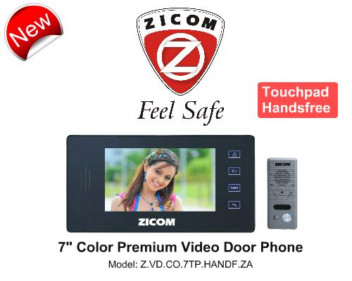 Video Door Phone, Door Alarm Systems, Zicom, Zicom 7