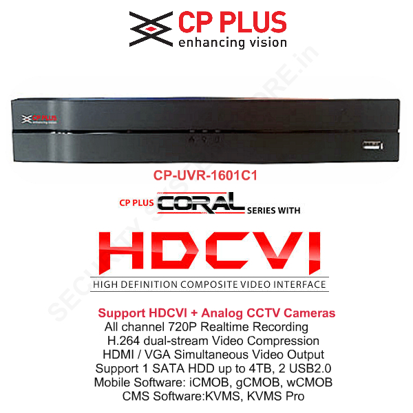 CP PLUS CP-UVR-1601C1