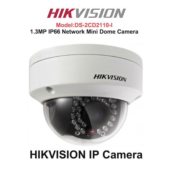 IP Cameras,Hikvision,HIKVISION IP Camera DS-2CD2110-I (Network Mini Dome Camera)