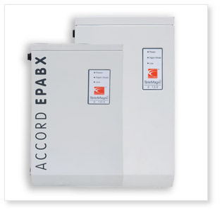 EPABX / Intercom Systems,ACCORD,Accord Telemagic Small PABX/Intercom System 206(CLI)