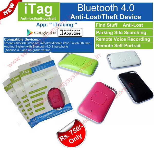 iTag,iTag,iTag Bluetooth 4.0 Based Anti Lost Anti Theft Device