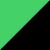 Neon Green & Black