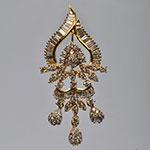 Diamond Lockets,Mangatrai,1.14 - 1.01ct. Diamond Locket in 18kt. Gold