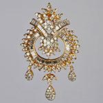 Diamond Lockets,Mangatrai,3.29 - 1.73ct. Diamond Locket in 18kt. Gold