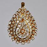 Diamond Lockets,Mangatrai,2.04ct. Diamond Locket in 18kt. Gold
