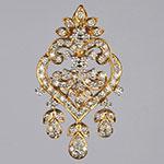 Diamond Lockets,Mangatrai,2.17ct. Diamond Locket in 18kt. Gold