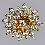 Diamond Lockets,Mangatrai,1.43ct. Diamond Locket in 18kt. Gold