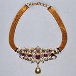 Diamond Necklace Sets,Mangatrai,7.13ct. Diamond Necklace Set in 18kt. Gold