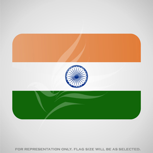 Outdoor Flags, Penguin Super Silk, Indian National Flag - Various Sizes